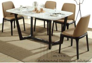 bàn ăn 4 ghế mặt đá