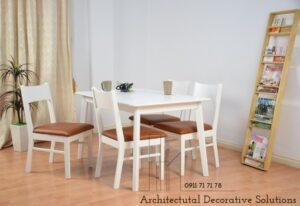 bàn ăn 4 ghế trắng